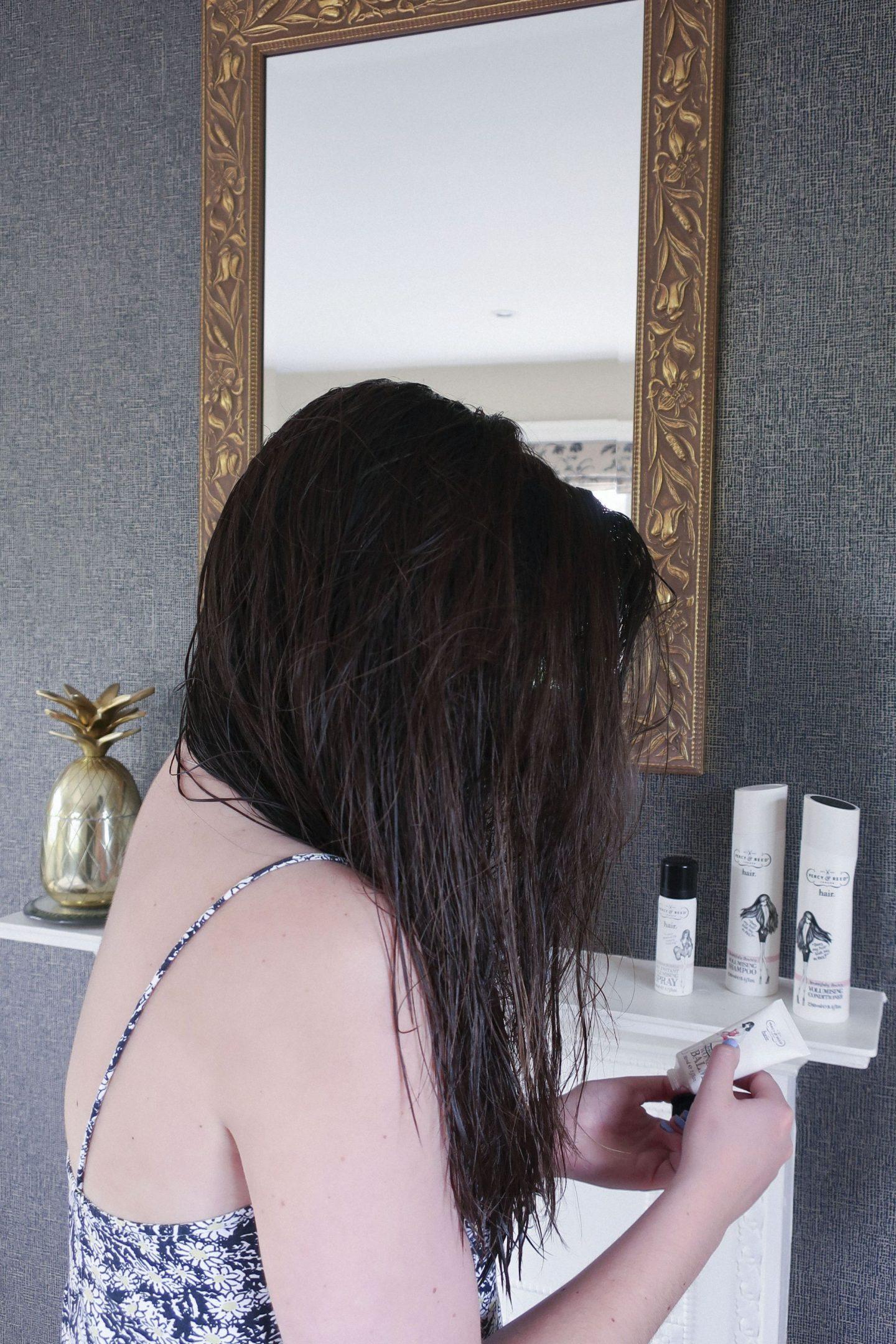 haircare routine