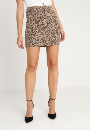 New Look Leopard Skirt