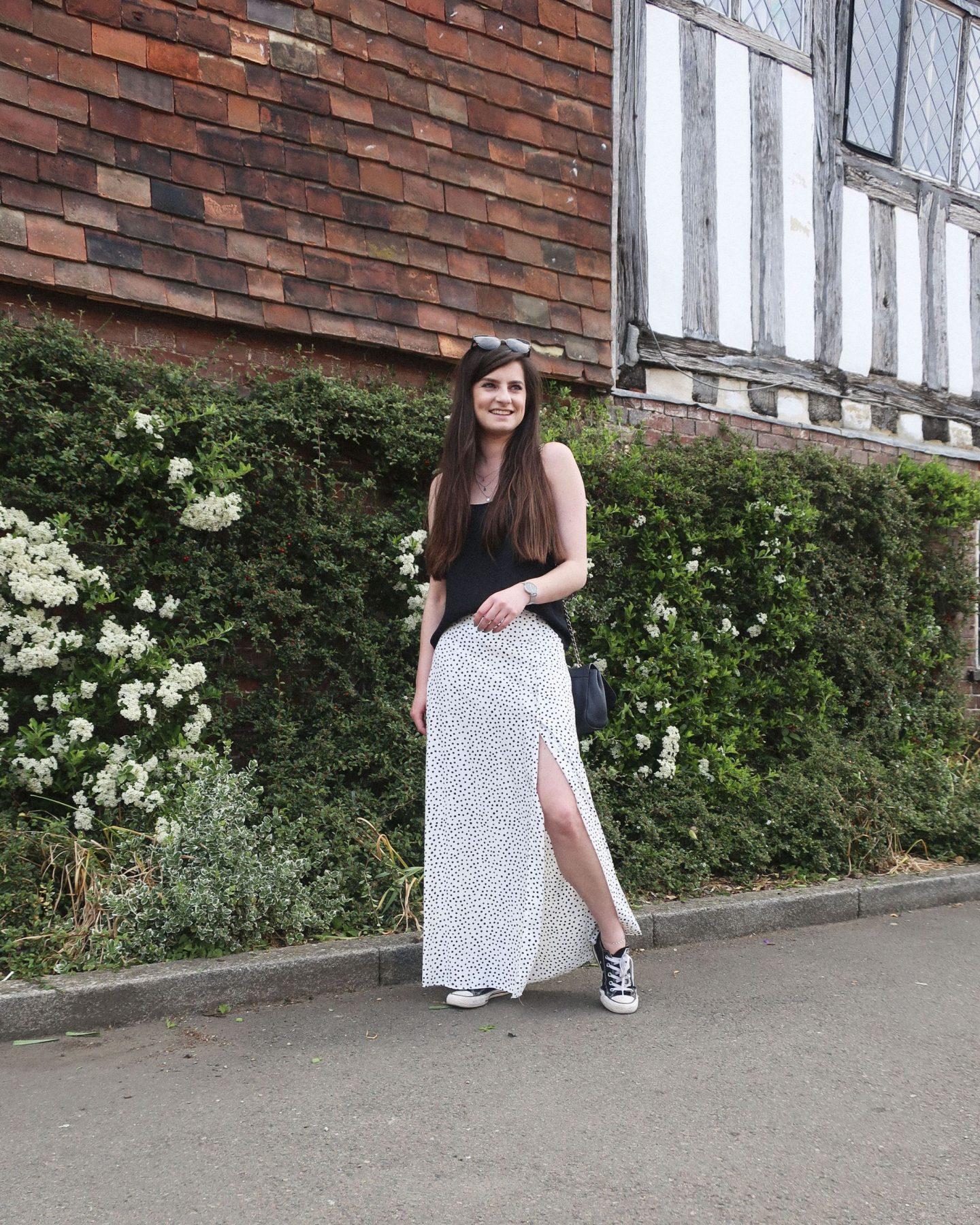 primark maxi skirt