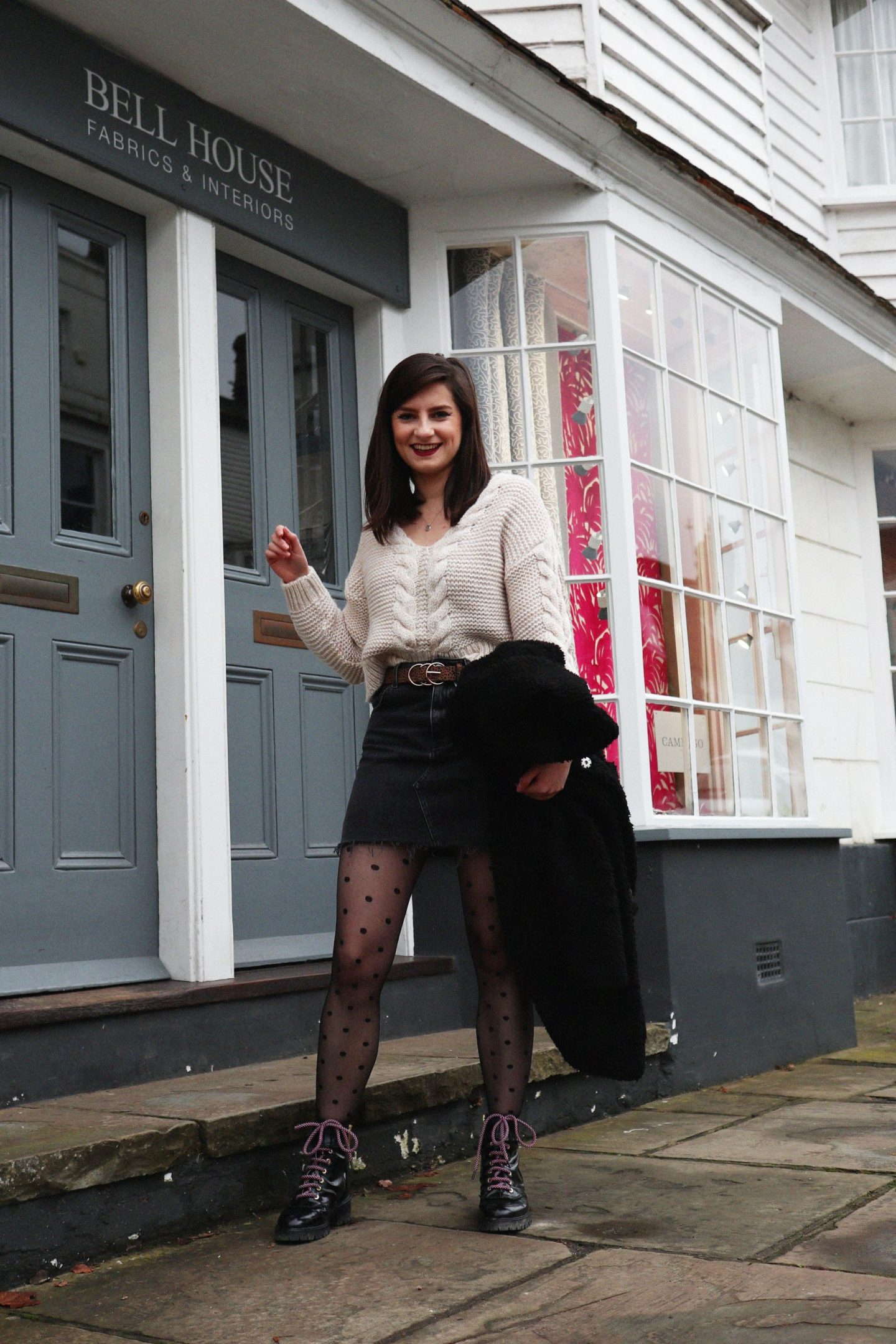 miss selfridge jumper topshop outfit